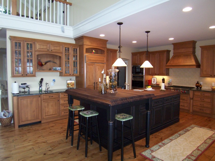 Black Walnut Kitchen Island Archives North Country Cabinets