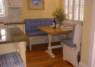 Custom Kitchen Table & Benches