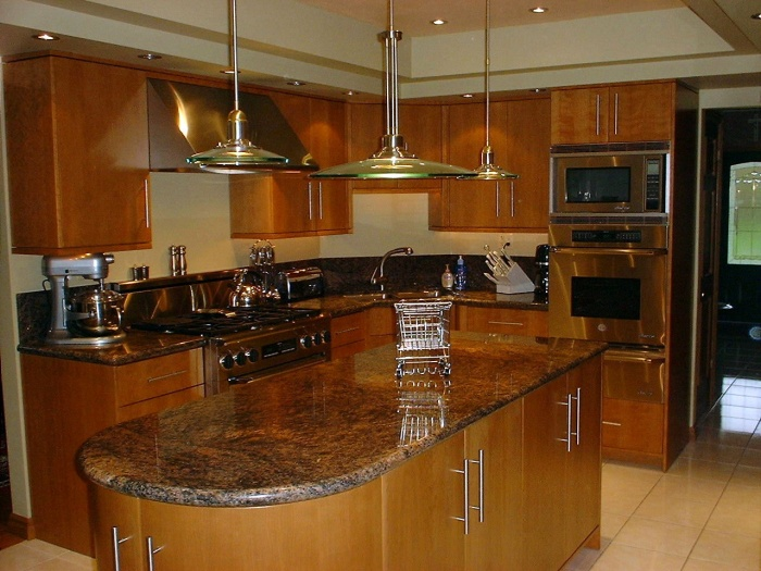 natural-cherry-cabinets-kitchen